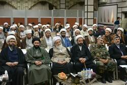 برگزاری گردهمایی روحانیون نیروهای مسلح کرمانشاه