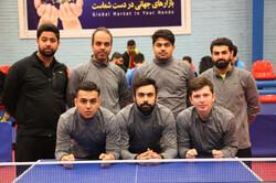 تیم پتروشیمی قهرمان لیگ برتر تنیس روی میز شد