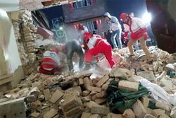 انفجار در خیرآباد ورامین/خروج ۴ نفر از زیر آوار و تداوم جستجو