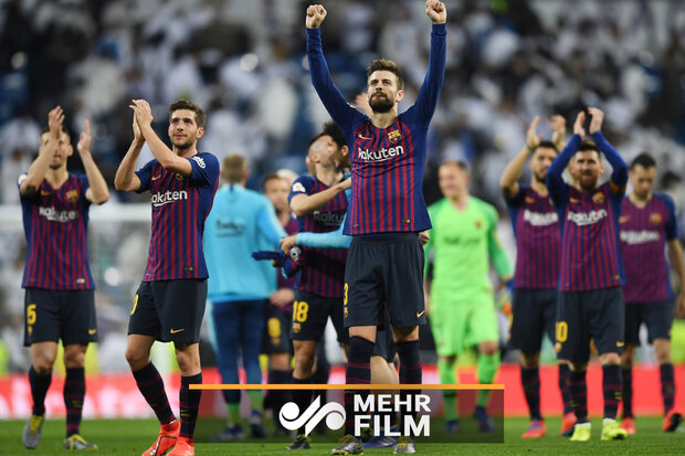 Barcelona, Real Madrid'i ezdi geçti