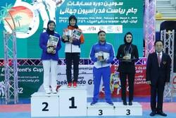 دختران چینی قهرمان شدند/ ایران چهارم شد