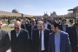 رئيس الوزراء الارميني في اصفهان