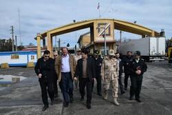 مدیرکل تقسیمات کشوری وزارت کشور از مرز آستارا بازدید کرد