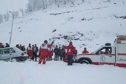 سقوط بهمن در ارومیه/۳ کوهنورد دچار حادثه شدند