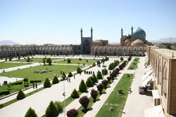 A view of the UNESCO-registered Imam Square