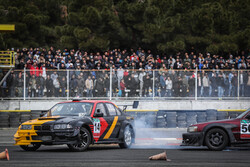 Final round of drift racing at Azadi Complex