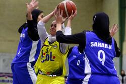 دیدار تیم های بسکتبال نامی نو و دانشگاه آزاد