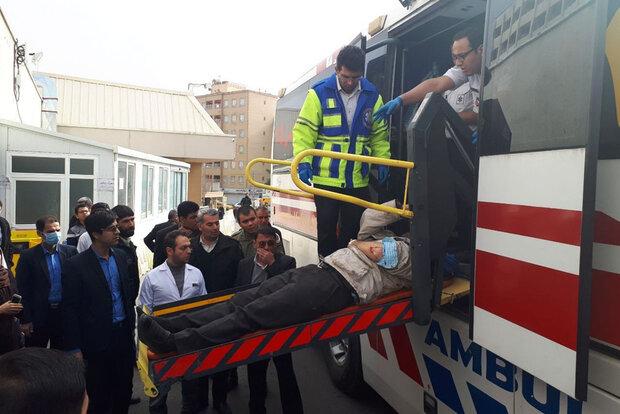 تعداد مصدومین تصادف اتوبان تهران-ساوه به ۸نفر رسید/۷تَن فوت کردند
