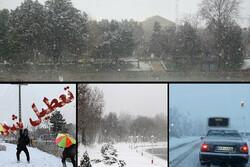برف و باران در آسمان ایران/ آخرین وضعیت جوی راهها/ مدارس کدام شهرها تعطیل شد؟