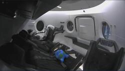 فیلم اتصال کپسول «دراگون» به ایستگاه فضایی بین المللی