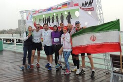 1st Persian Gulf Marathon in Kish Island knows winners