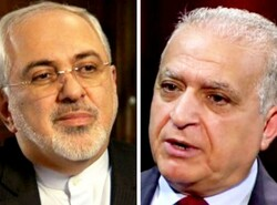 Iraqi, Iranian chief diplomats hold talks ahead of Rouhani visit to Baghdad