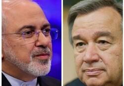 UN chief, Zarif deliberate about major developments