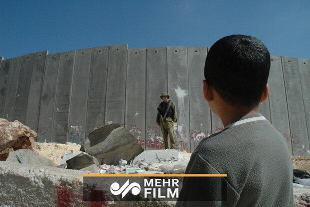 "İsrail'in ""Ayrım Duvarı"" yağmurdan dolayı çöktü"