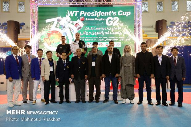 مردان ایران قهرمان تکواندوی جام ریاست فدراسیون جهانی شدند