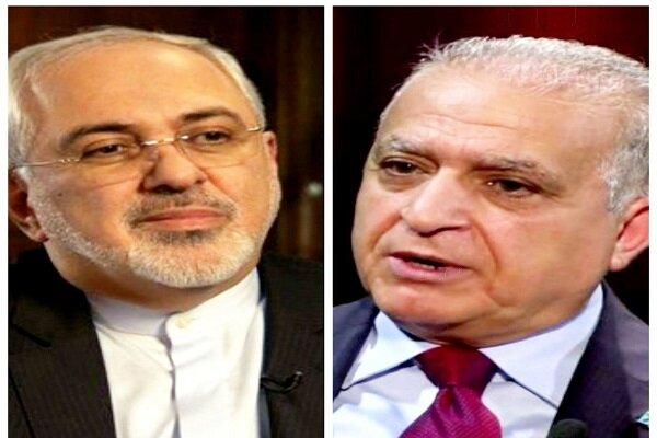 Iranian, Iraqi FMs discuss regional developments