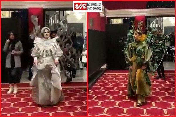 با برگزارکننده نمایش مد و لباس مختلط برخورد میشود
