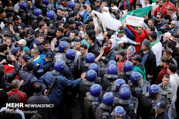 اعتراضات شهروندان الجزایر