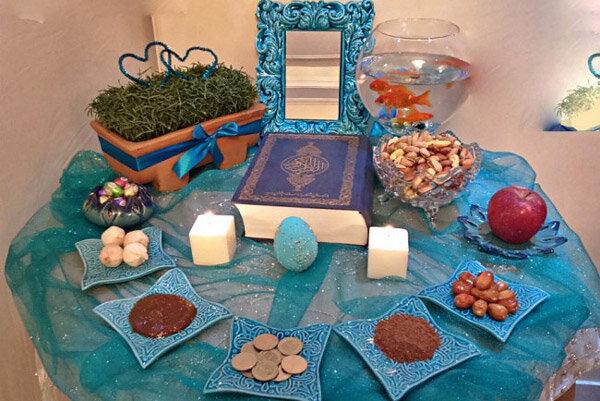 سفره های هفت سین مددجویان قزوین در عید نوروز رنگین می شود