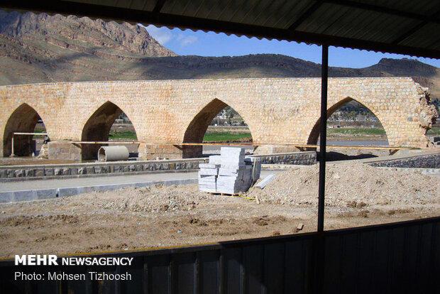 Tarihi Kırık Köprü'den fotoğraflar