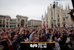 بزرگترین اجتماع ضد نژادپرستی در ایتالیا