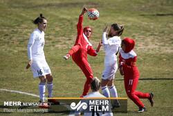 دیدار فوتبال زنان ایران و بلاروس