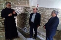 رئیس ستاد هماهنگی خدمات سفر کشور از کلیسای ننه مریم بازدید کرد