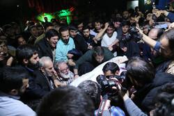 مدافع حرم شہید میثم نظری کے پیکر سے الوداعی تقریب