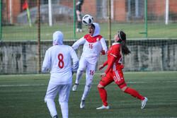 u19 woman football team