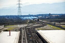 بازدید سرپرست راه آهن شمال غرب کشور از ایستگاه راه آهن رشت