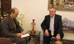 Assad's Tehran visit shows Iranian status: envoy