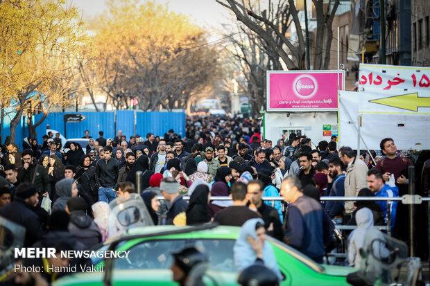 خرید داغ نوروزی در بازار بزرگ تهران