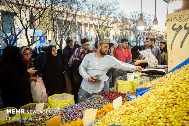 Nowruz shopping at Tehran's Grand Bazaar