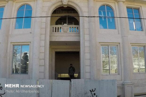 تخریب ویلای دختر وزیر سابق