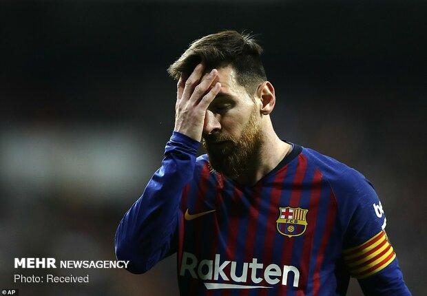 دیدار تیم های فوتبال رئال مادرید و بارسلونا
