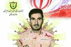 پیکر سرباز شهید مرزبانی به گلستان منتقل میشود