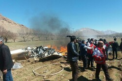 Emergency helicopter crashes in SW Iran, kills 5