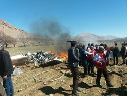 İran'da ambulans helikopteri düştü