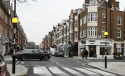 تصاویر خط عابر سه بعدی در لندن