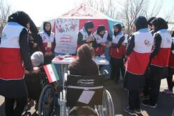 دانش آموزان روستایی قزوین در «زنگ مهمانی، رنگ مهربانی» شرکت کردند