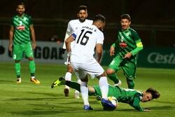دیدار تیم های فوتبال ذوب آهن اصفهان و الزورا عراق