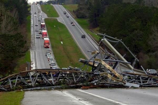 امریکہ میں طوفانی بگولے کے نتیجے میں 22 افراد ہلاک
