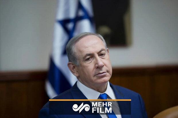 وقتی نتانیاهو از ترس موشکهای مقاومت پا به فرار میگذارد