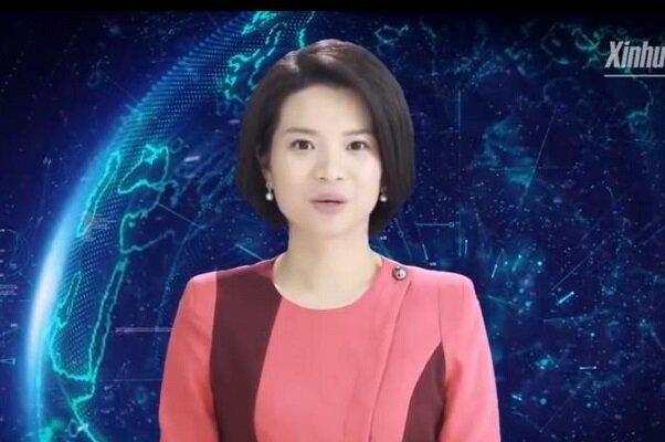 چین ربات گوینده زن هم استخدام کرد