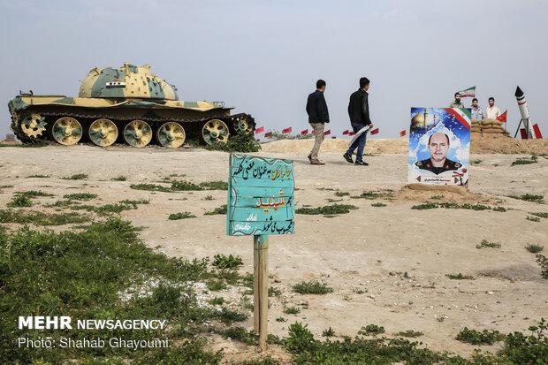 امکان اسکان۱۵هزار زائر مناطق عملیاتی در اردوگاه شهید باکری خرمشهر