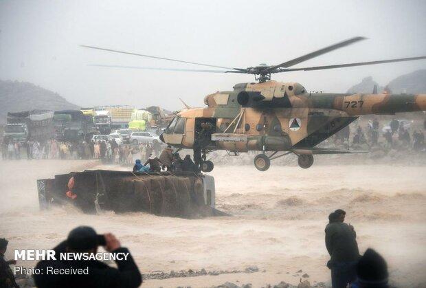 سیل در افغانستان