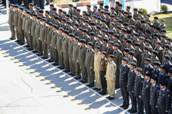 Graduation ceremony of army students at DAFOOS