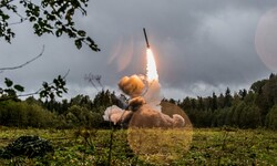 Russia has accused US of breaching pact by deploying missile defence facilities in eastern Europe. Photograph: KONSTANTIN ALYSH/DEFENCE MINISTRY HANDOUT HANDOUT/EPA