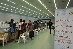 رقابت ۵۰ تیرانداز دانشجو در اولین مسابقه انتخابی