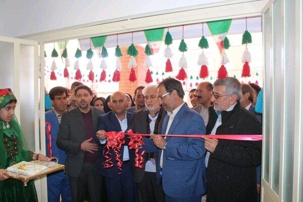 افتتاح مدرسه خیرساز ۹ کلاسه ابتدایی شهیدان تقی زاده منطقه سروک